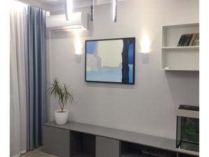 Фотографии нашей картины синих оттенков в интерьере. Ярмарка Мастеров - ручная работа, handmade.