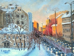 Городские пейзажи Москвы и  Крыма. Ярмарка Мастеров - ручная работа, handmade.