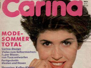 Carina Burda 6 1991 (июнь). Ярмарка Мастеров - ручная работа, handmade.