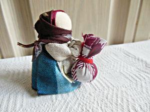 Мастерим народную куклу-оберег Подорожница. Ярмарка Мастеров - ручная работа, handmade.