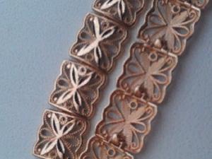 Аукцион на золотой браслет 585!. Ярмарка Мастеров - ручная работа, handmade.