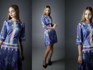 Платье Волшебный лес. Ярмарка Мастеров - ручная работа, handmade.
