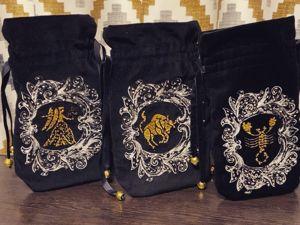 Мешочки коллекция  «Знаки зодиака». Ярмарка Мастеров - ручная работа, handmade.