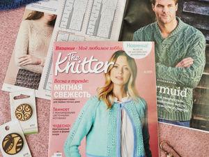 The Knitter  «Вязание. Мое любимое хобби»  АПРЕЛЬ 2021. Ярмарка Мастеров - ручная работа, handmade.