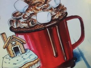 Мой новый проект. Зимний десерт. Старт. Ярмарка Мастеров - ручная работа, handmade.