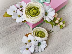 Как сделать хризантему из иранского фоамирана и флористической проволоки. Ярмарка Мастеров - ручная работа, handmade.