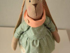Мастер-класс: шьем зайку в стиле Тильда. Ярмарка Мастеров - ручная работа, handmade.
