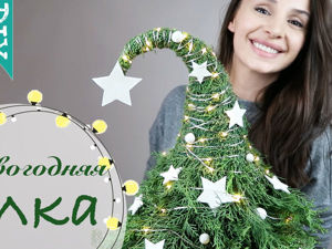 How to Make a Christmas Tree from Pine Branches. Livemaster - handmade