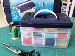 Клик-боксы для хранения швейных принадлежностей. Ярмарка Мастеров - ручная работа, handmade.