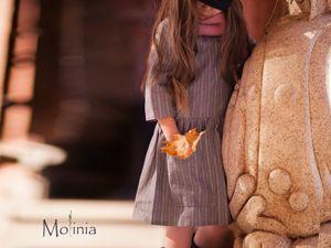 Как или с чем носить льняные платья осенью. Ярмарка Мастеров - ручная работа, handmade.