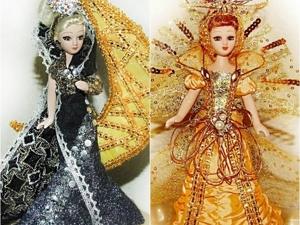 Мои куклы Царица Ночи и Звезда по имени Солнце. Ярмарка Мастеров - ручная работа, handmade.