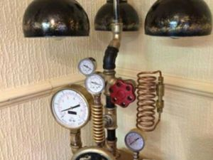 34 Design Table Lamps in the Style of Steampunk and Industrial. Livemaster - handmade