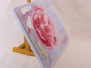 Новая картина маслом с поталью. Ярмарка Мастеров - ручная работа, handmade.