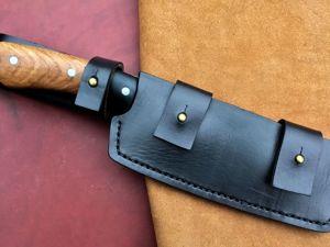 Кожаные ножны. Тип 5. Погружные. Ярмарка Мастеров - ручная работа, handmade.