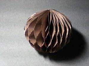 Бумажный помпон. Ярмарка Мастеров - ручная работа, handmade.