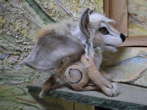 Приёмы декорирования валяной игрушки натуральным мехом. Ярмарка Мастеров - ручная работа, handmade.