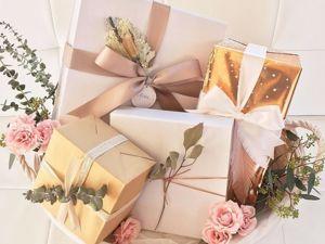 Доставка и подарочная упаковка ваших подарков. Ярмарка Мастеров - ручная работа, handmade.