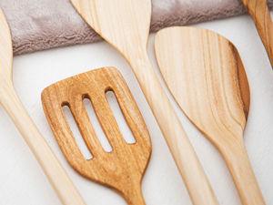 Лопатка из дерева Фруктовая, видео. Ярмарка Мастеров - ручная работа, handmade.