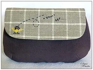 Косметичка Маленькая пчелка.. Ярмарка Мастеров - ручная работа, handmade.