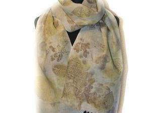 Остался последний льняной шарф!. Ярмарка Мастеров - ручная работа, handmade.