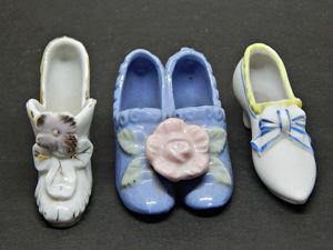 Киллекционные фарфоровые туфельки. Ярмарка Мастеров - ручная работа, handmade.