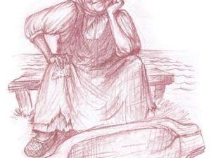 Сказ О Золотой Рыбке. Ярмарка Мастеров - ручная работа, handmade.