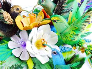 Акция к 8 марта: птички и аксессуары из кожи по специальной цене!. Ярмарка Мастеров - ручная работа, handmade.