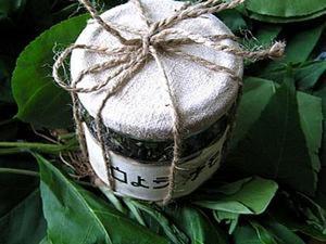 Оформление баночки для чая или  кофе. Ярмарка Мастеров - ручная работа, handmade.