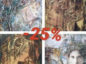 Акция ноября — 25%. Ярмарка Мастеров - ручная работа, handmade.