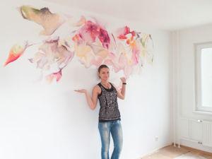 Роспись стен в СПб от 900 руб. за м2. Ярмарка Мастеров - ручная работа, handmade.