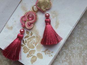 Про изнанку моих сутажных украшений. Ярмарка Мастеров - ручная работа, handmade.