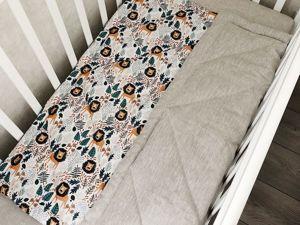 Зимнее одеяло из льна и премиум хлопка. Ярмарка Мастеров - ручная работа, handmade.