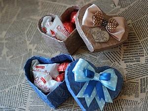 Как сделать коробочку в форме сердца. Ярмарка Мастеров - ручная работа, handmade.