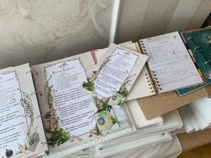 Размер листов Тетради для учеников Летней Школы. Пример для сравнения с обычным блокнотом. Ярмарка Мастеров - ручная работа, handmade.