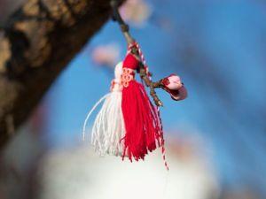 """Встречаем весну ярко: оберег-талисман """"Мартеницы"""". Ярмарка Мастеров - ручная работа, handmade."""