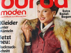 Burda moden 10/1979 Бурда Моден. Ярмарка Мастеров - ручная работа, handmade.