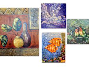 Картины для гармонизации жизни по фэншуй. Ярмарка Мастеров - ручная работа, handmade.