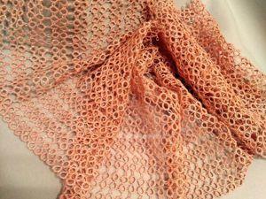 Новый ажурный шарф. Ярмарка Мастеров - ручная работа, handmade.