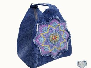 Шьем сумку-рюкзак. Ярмарка Мастеров - ручная работа, handmade.