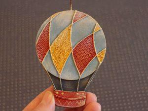 Как сделать елочную игрушку Воздушный шар. Ярмарка Мастеров - ручная работа, handmade.