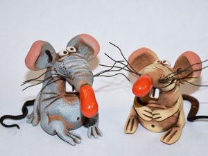 Мышки. Ярмарка Мастеров - ручная работа, handmade.