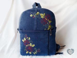 Новинка: Женский рюкзак Утренние розы. Ярмарка Мастеров - ручная работа, handmade.