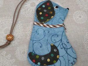 Шьем собачку-ключницу к Новому году. Ярмарка Мастеров - ручная работа, handmade.