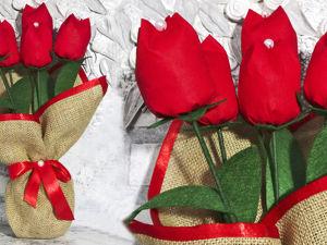 Делаем цветы из ткани к 8 марта: видео мастер-класс. Ярмарка Мастеров - ручная работа, handmade.