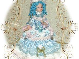 Моя Мальвина — кукла  в сказочном костюме. Ярмарка Мастеров - ручная работа, handmade.