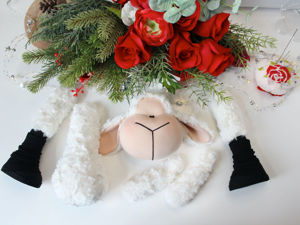 Шьем текстильную овечку. Ярмарка Мастеров - ручная работа, handmade.