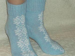 Скидка на вязаные носочки 10 — 20%. Ярмарка Мастеров - ручная работа, handmade.