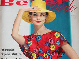 Beyer mode 7/1960 Бурда Моден. Ярмарка Мастеров - ручная работа, handmade.
