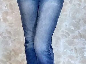 Новая жизнь джинсам. Ярмарка Мастеров - ручная работа, handmade.