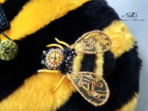 Пчелиный рой. Новые сумочки с пчелками. Ярмарка Мастеров - ручная работа, handmade.